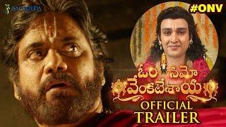 Om Namo Venkatesaya Theatrical Trailer | Nagarjuna | Anushka | Pragya | Jagapathi Babu | #ONVTrailer
