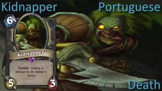 Kidnapper card sounds in 12 languages -Hearthstone✔