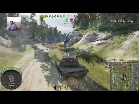 World of tanks.VK45.02 B.PS4 [1080p,60fps]
