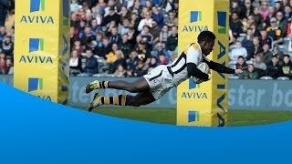 Christian Wade - magical 6 try performance v Worcester