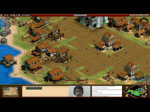 Age of Empires 2 HD: Playing against global rank 1 and 388 :O