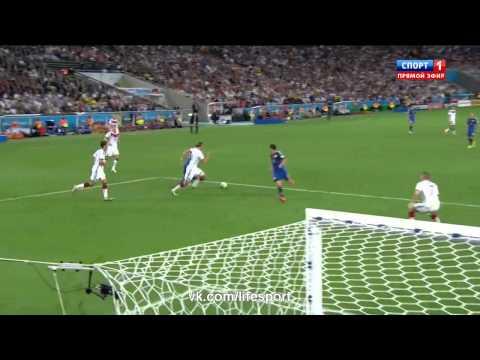 Германия 1:0 Аргентина | Обзор матча (2014)