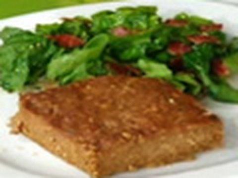 Pastel de Carne con Ensalada...Receta