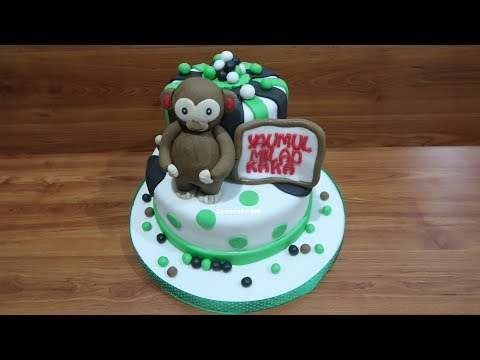 First Time Make Monkey Cake | How to Make Birthday Cake Unique