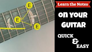Tips to Learn the Notes on your Guitar | Fretboard Mastery | Steve Stine Guitar Lesson