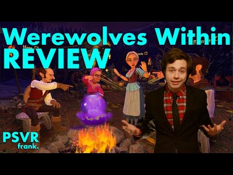 PSVR frank. Review: Werewolves Within PlayStation VR