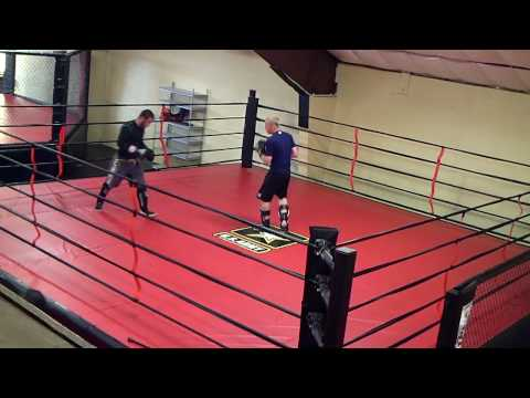 8th Street Gym Kick Boxing Sparring Adam & Jeff Image 1