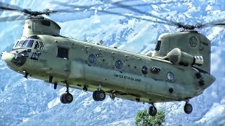 CH-47F Chinook In Action • World's Fastest Military Helicopter
