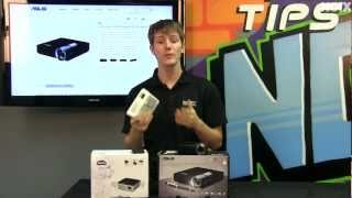 Pico Projectors - ASUS P1 & BenQ GP2 Review & Product Showcase NCIX Tech Tips