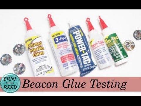 Testing Beacon Glue - 3 in 1, Gem Tac, Power Tac, Fabri Tac, & Mixed Media Glue