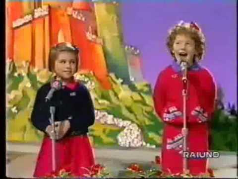 Canzone della gioia – 32° Zecchino d'Oro (1989)