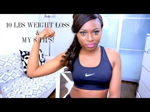 10LB WEIGHT LOSS & MY 8 DIET & FITNESS TIPS