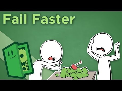 Extra Credits - Fail Faster - A Mantra For Creative Thinkers video