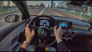 Mercedes A-Class Night | 4K POV Test Drive #210 Joe Black