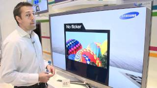 Samsung Series 8 65-inch 3D TV at IFA 2010 - Which? first look