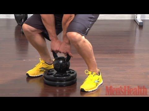 How to Do a Deadlift High Pull - Men's Health Image 1