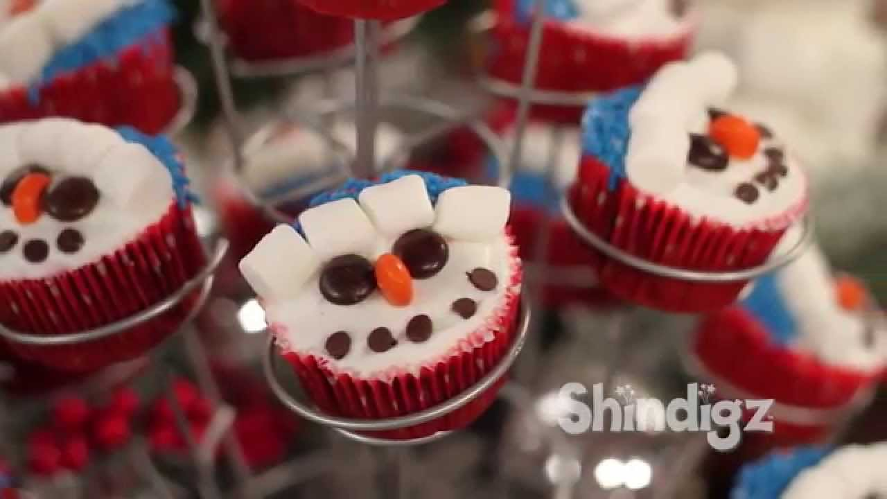 Kids Party Ideas Christmas Cupcake Decorating Holiday