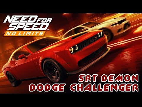 Need for Speed: No Limits - Dodge challenger SRT Demon (ios) #54