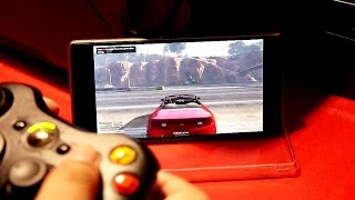 Play GTA 5 on your Android phone or tablet using moonlight gamestream