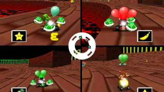 Mario Kart 64 Netplay Battle: Big Donut round 2