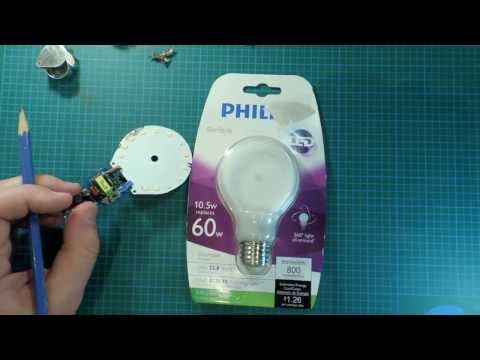 Philips Slim Style LED Light Bulb Review and Teardown: Race to the Bottom