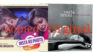 चोरेर बनाइयो Insta Ko Photo Copied From French Song 34 By Carla Bruni