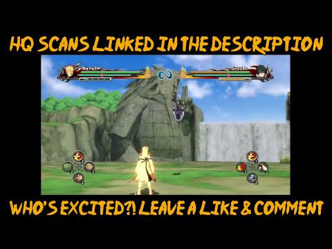 Naruto Ultimate Ninja Storm 4: HQ V-Jump Translated Scans