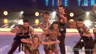 Group's Performance (Skate Battle) in Dancing on Ice (Time Tunnel Week) (24/2/19)