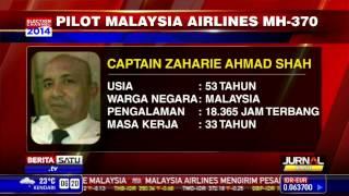 Profil Dua Pilot Malaysia Airlines MH370