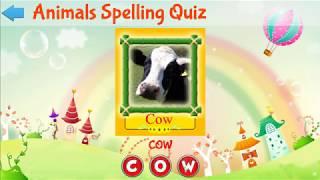 Zoo Fun - Animal Sounds - Animal names pronunciation - English Alphabets Sounds