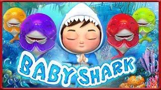 Baby Shark Doo Doo Do Doo | + More Nursery Rhymes & Kids Songs Banana Cartoons [HD]