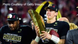 Jake Coker reflects on his career at Alabama and 2015 championship