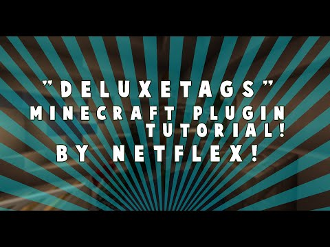 How to Use and Install: DeluxeTags for Spigot: Minecraft