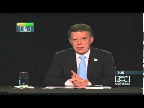 Santos le dice títere a Óscar Iván Zuluaga