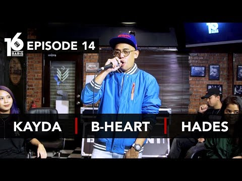 Download 16 BARIS | EP14 | Kayda, B-Heart & Hades Mp4 baru