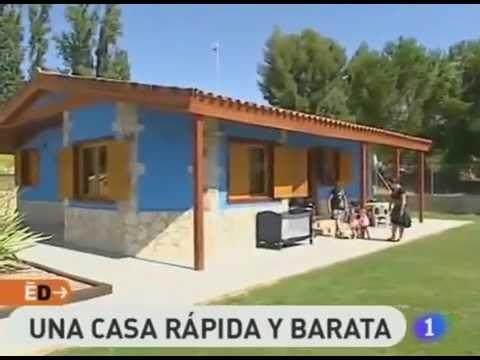 Espa a directo visita casas prefabricadas cofitor youtube for Casa y jardin tienda madrid
