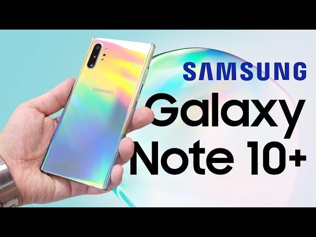 Двойная распаковка Samsung Galaxy Note 10+ на Snapdragon 855 и Exynos 9825