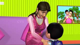 Johny Johny Yes Papa Nursery Rhyme Kids' Songs 3D Animation English Rhymes For Children mp4 7