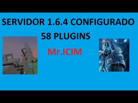 Descargar servidor 1.6.4 bukkit configurado de minecraft - 57 Plugins