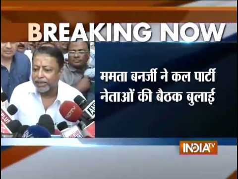 TMC Removes Mukul Roy as the Parliamentary Party Chairman - India TV