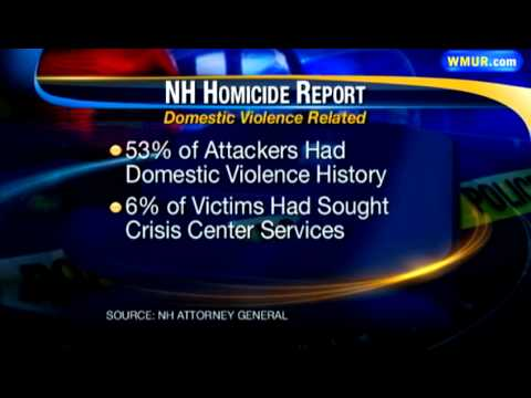 Report links domestic violence, homicides
