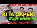 BODY SHAMING. CAPEK TAU DIHINA TERUS. - WAJIB NONTON. BATHROOM TALK - FEAT GERALDY TAN.