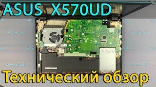 Технический обзор ноутбука Asus X570UD