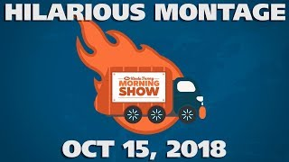 Kinda Funny Morning Show Hilarious Montage - Oct 15th, 2018