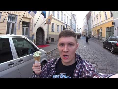 Эстония: старый Таллинн, еда и световое шоу