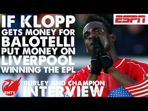 If Klopp gets money for Balotelli, put money on LFC winning the league in 2 years!