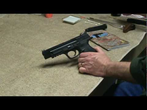 Smith & Wesson M&P Pro Cleaning.MPG