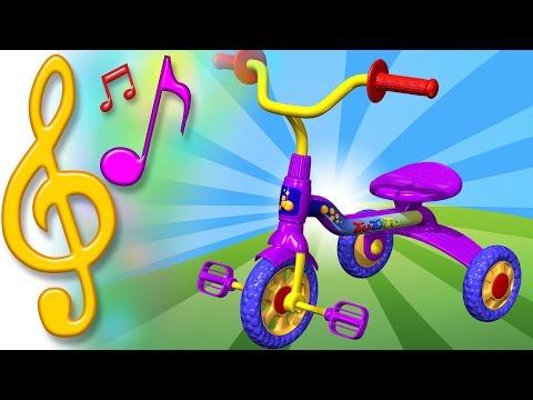 Piosenki Po Angielsku Dla Dzieci | Rower - Trycykl | Nauka Angielskiego Dla Dzieci