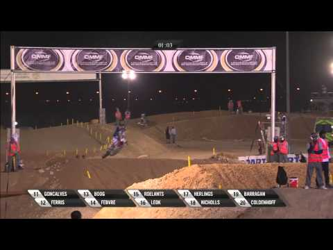 MXGP of Qatar 2013 FULL MX1/MX2 Superfinal Race - Motocross