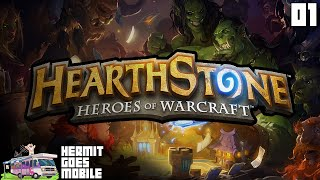 Hermit Goes Mobile - HEARTHSTONE!!! iOS Android 1080p HD walkthrough